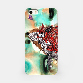 Thumbnail image of Fox and Butterfly iPhone Case, Live Heroes