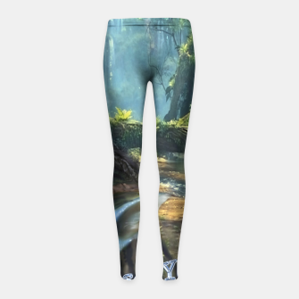 Thumbnail image of I See You Girl's Leggings, Live Heroes