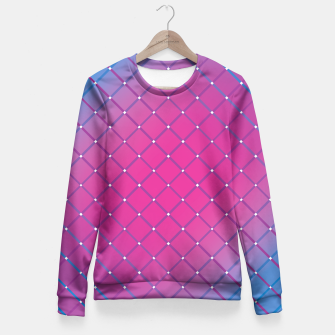 Thumbnail image of Cool Pink Design Taillierte Sweatshirt, Live Heroes