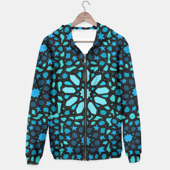 Thumbnail image of Intense Turquoise Hoodie, Live Heroes