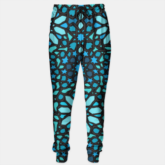 Miniatur Intense Turquoise Sweatpants, Live Heroes