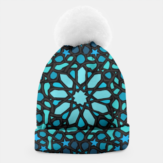 Miniatur Intense Turquoise Beanie, Live Heroes