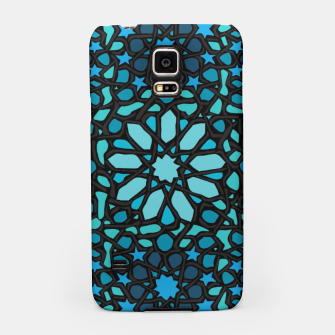 Miniatur Intense Turquoise Samsung Case, Live Heroes