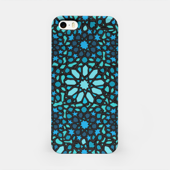 Miniatur Intense Turquoise iPhone Case, Live Heroes