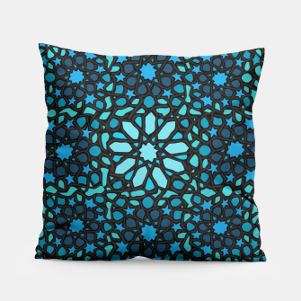 Miniatur Intense Turquoise Pillow, Live Heroes
