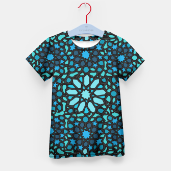 Miniatur Intense Turquoise Kid's T-shirt, Live Heroes
