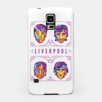 Miniatur Beatles cool design Samsung Case, Live Heroes
