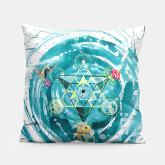Thumbnail image of Alpha & Omega Pillow, Live Heroes