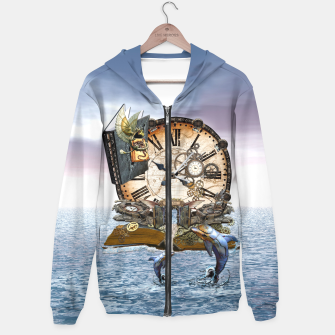 Thumbnail image of Steampunk Dragon Story Books Hoodie, Live Heroes