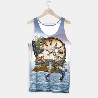 Thumbnail image of Steampunk Dragon Story Books Tank Top, Live Heroes