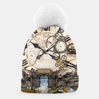 Thumbnail image of Steampunk Dragon Story Books Beanie, Live Heroes