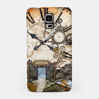Thumbnail image of Steampunk Dragon Story Books Samsung Case, Live Heroes