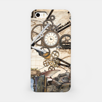 Steampunk Dragon Story Books iPhone Case thumbnail image