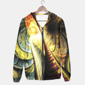 Thumbnail image of Steampunk background Hoodie, Live Heroes