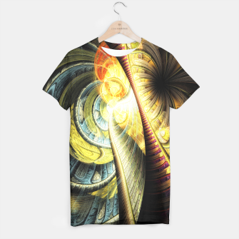 Thumbnail image of Steampunk background T-shirt, Live Heroes