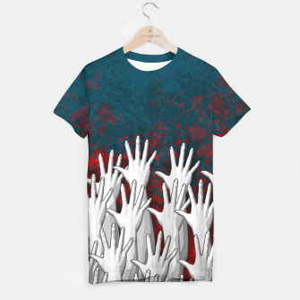 Thumbnail image of Reach Out T-shirt, Live Heroes