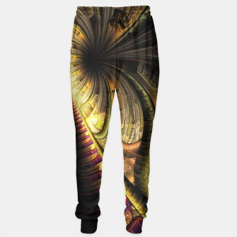 Thumbnail image of Steampunk background Sweatpants, Live Heroes