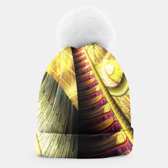 Thumbnail image of Steampunk background Beanie, Live Heroes