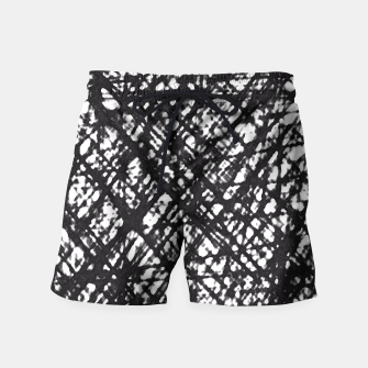 Thumbnail image of Checked! Swim Shorts, Live Heroes