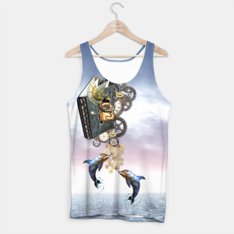 Thumbnail image of Steampunk ocean Story book Tank Top, Live Heroes