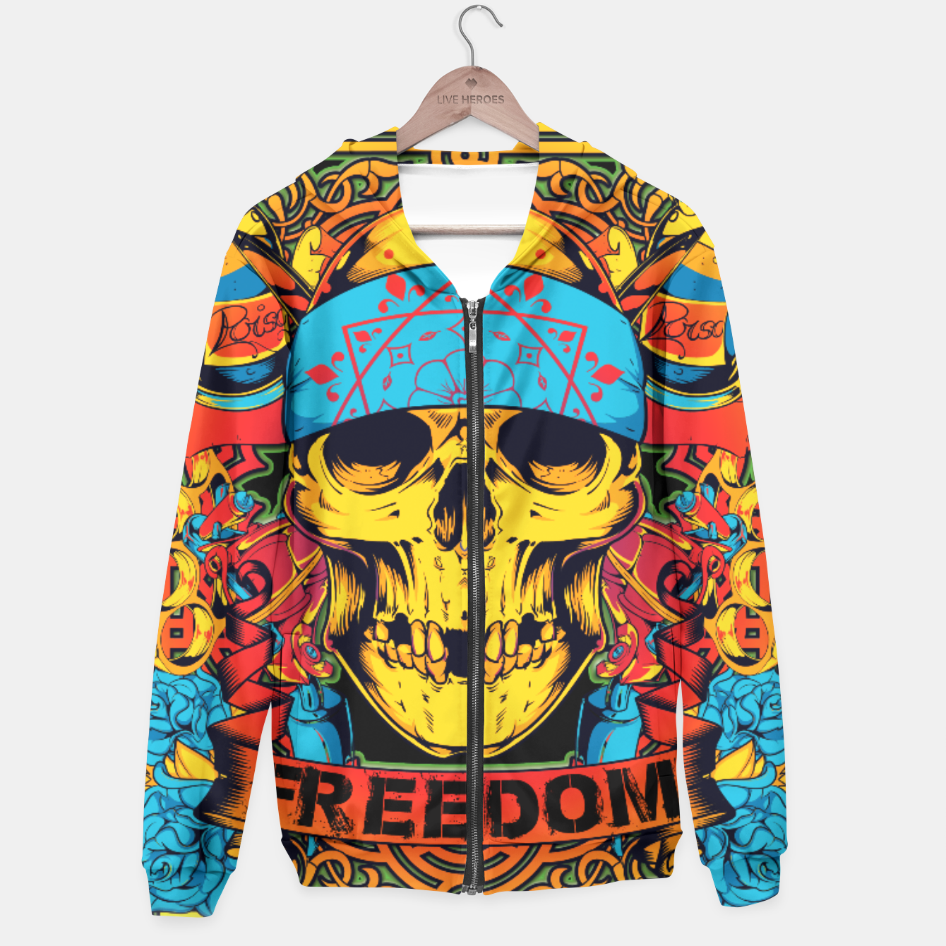 Image of OPERATION DESERT STORM Freedom Edition Hoodie - Live Heroes