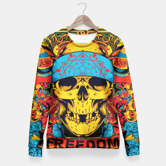 Thumbnail image of OPERATION DESERT STORM Freedom Edition Fitted Waist Sweater, Live Heroes