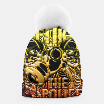 Thumbnail image of F*ck the Police fire Edition Beanie, Live Heroes