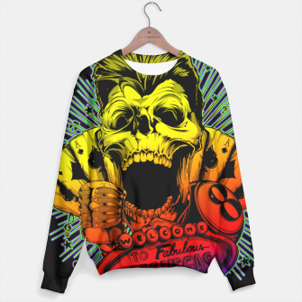 Thumbnail image of WELCOME TO FABULOUS HELL Gold Digger Edition Sweater, Live Heroes