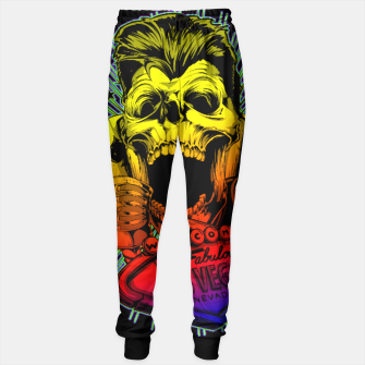 Thumbnail image of WELCOME TO FABULOUS HELL Gold Digger Edition Sweatpants, Live Heroes