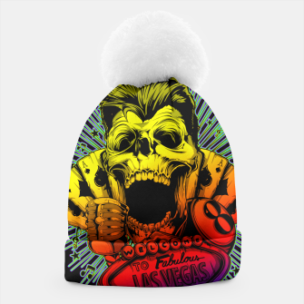 Thumbnail image of WELCOME TO FABULOUS HELL Gold Digger Edition Beanie, Live Heroes