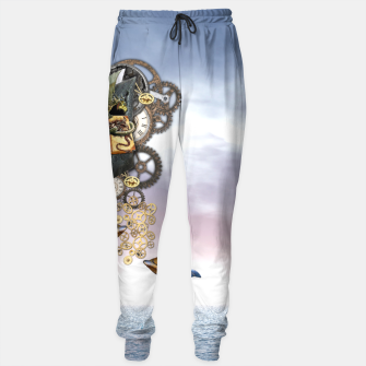 Thumbnail image of Steampunk ocean Story book Sweatpants, Live Heroes