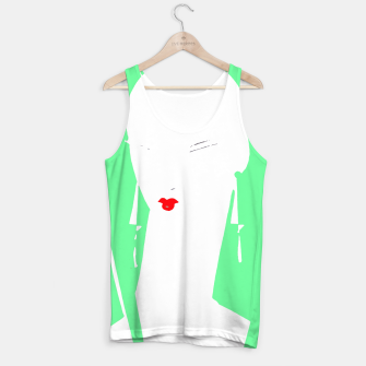 Thumbnail image of Stencil Vogue Part 3 Tank Top, Live Heroes