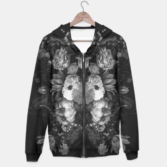 Thumbnail image of Botanical Darkness Hoodie, Live Heroes