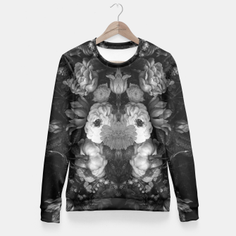 Thumbnail image of Botanical Darkness Fitted Waist Sweater, Live Heroes