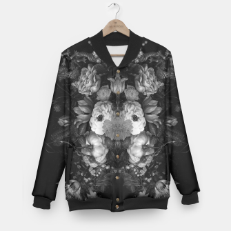 Thumbnail image of Botanical Darkness Baseball Jacket, Live Heroes