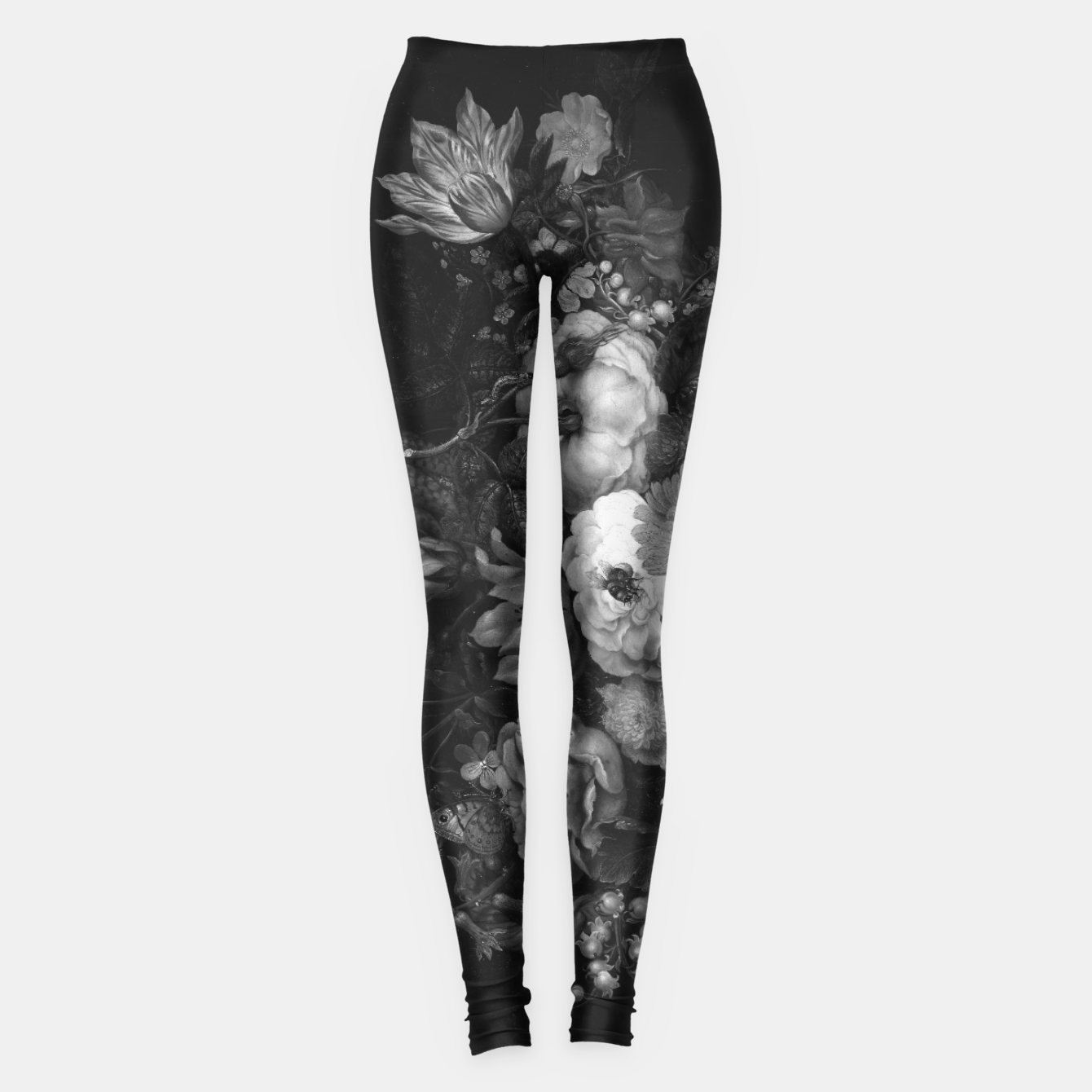 Image of Botanical Darkness Leggings - Live Heroes