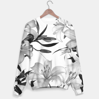 Thumbnail image of Tropical Lilies Sweater, Live Heroes