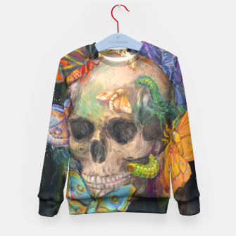 Thumbnail image of House of wonders Kid's Sweater, Live Heroes