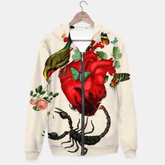 Thumbnail image of Heart attack Hoodie, Live Heroes