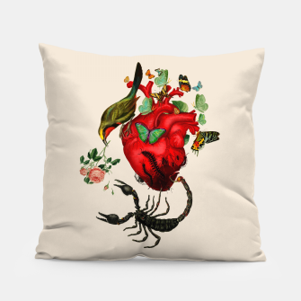 Thumbnail image of Heart attack Pillow, Live Heroes
