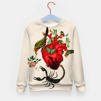 Thumbnail image of Heart attack Kid's Sweater, Live Heroes