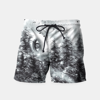 Thumbnail image of The Watcher Swim Shorts, Live Heroes