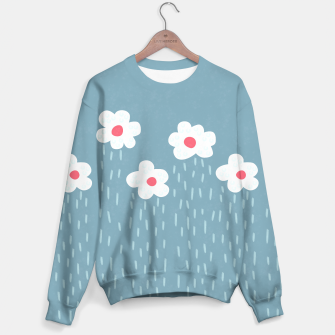 Flowery Rain Clouds Sweater thumbnail image