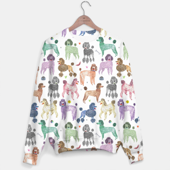 Thumbnail image of Poodles by Veronique de Jong Sweater, Live Heroes