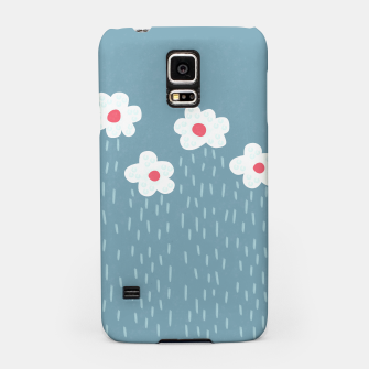Flowery Rain Clouds Samsung Case thumbnail image