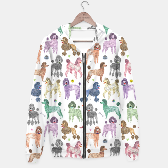 Poodles by Veronique de Jong Hoodie thumbnail image