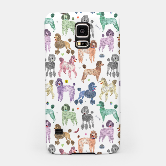Poodles by Veronique de Jong Samsung Case thumbnail image