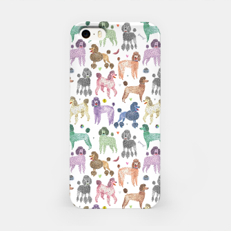 Poodles by Veronique de Jong iPhone Case thumbnail image