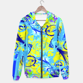 Thumbnail image of Abstract illustration Hoodie, Live Heroes