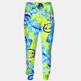 Thumbnail image of Abstract illustration Sweatpants, Live Heroes